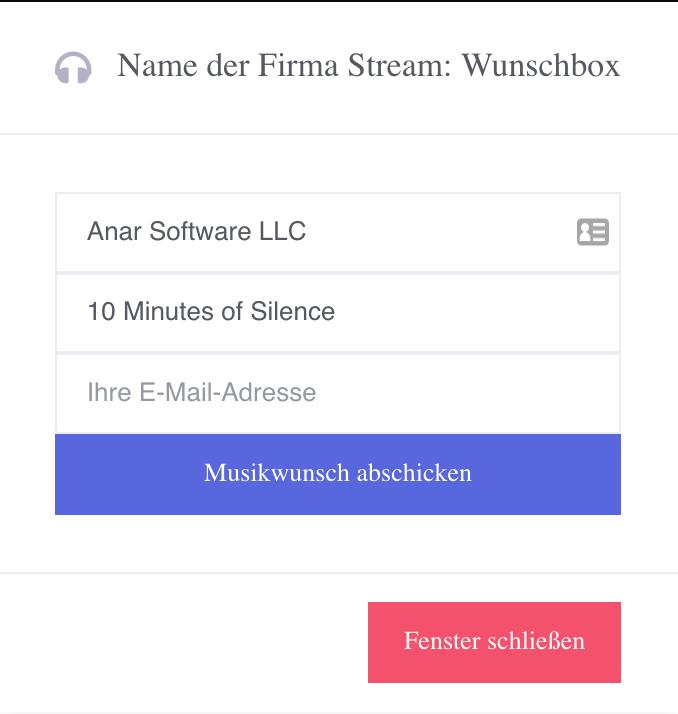 Automatische Wunschboxen Beispiel 2 Nutzer