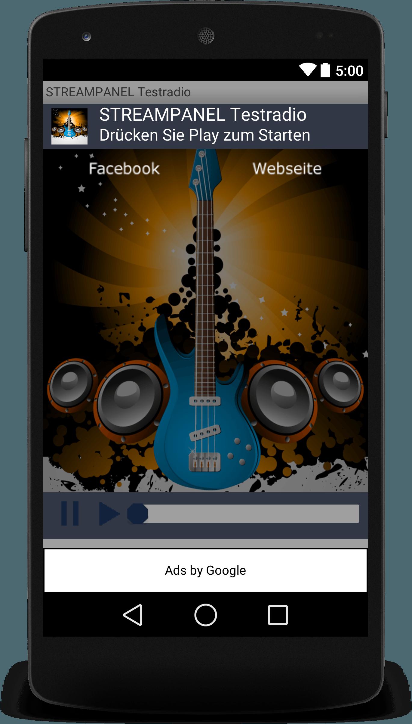Webradio App Android
